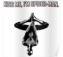 Spider-Man Kiss Me Poster