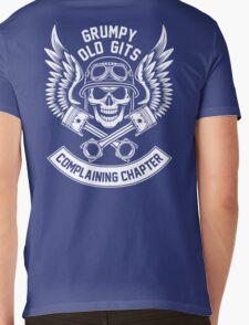 Grumpy Old Gits Complaining Chapter Mens V-Neck T-Shirt