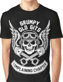 Grumpy Old Gits Complaining Chapter Graphic T-Shirt