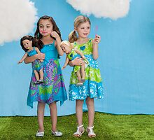 Perfect Matching Outfits for Girls and Their Dolls by dollieandme