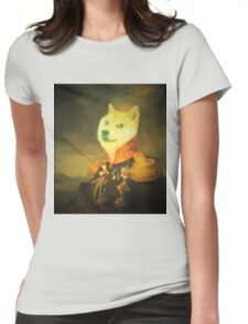 Military Doge Womens Fitted T-Shirt