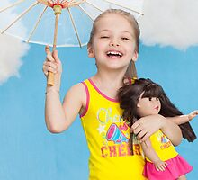 Sportswear Matching Girl and Doll Clothes by dollieandme