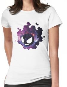 Galaxy Gastly Womens Fitted T-Shirt