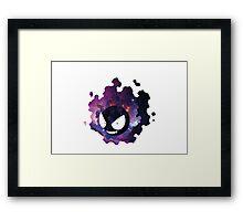 Galaxy Gastly Framed Print