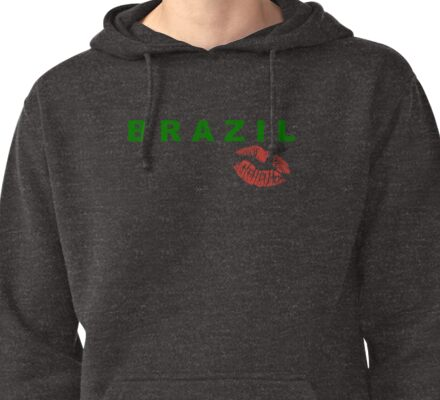 BRAZIL Pullover Hoodie