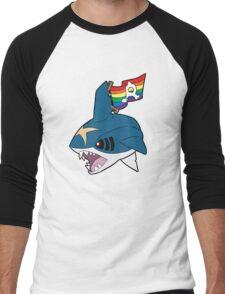 Team Queer Sharks Men's Baseball ¾ T-Shirt