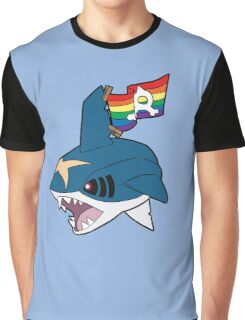 Team Queer Sharks Graphic T-Shirt