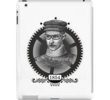 Vintage Steampunk Man iPad Case/Skin