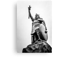 Winchester Statue  Canvas Print