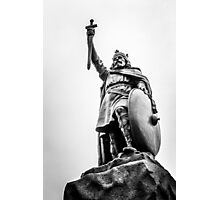 Winchester Statue  Photographic Print