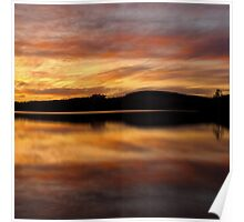 Bartley reservoir - photography Poster