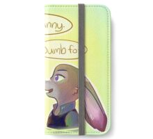 Zootopia: Nick Wilde and Judy Hoppes iPhone Wallet/Case/Skin