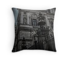 Downing Street London Throw pillow and Tote Bag Throw Pillow