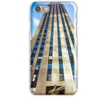 Rockefeller Center 30 Rock  iPhone Case/Skin