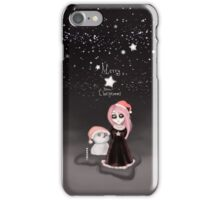 Black Xmas: A Merry Gothic Christmas iPhone Case/Skin