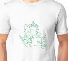 Happy Lion Green Unisex T-Shirt