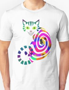 We're all mad here - Cheshire cat Unisex T-Shirt