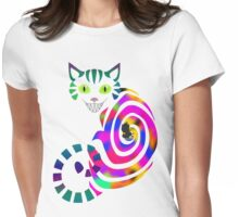 We're all mad here - Cheshire cat Womens Fitted T-Shirt