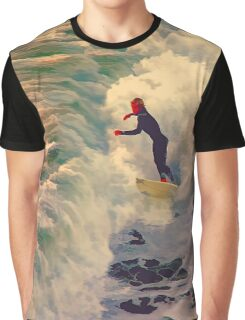 Riding the Sea by Lena Owens Graphic T-Shirt