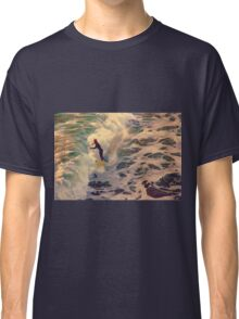 Riding the Sea by Lena Owens Classic T-Shirt