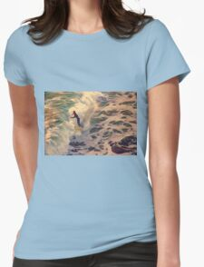 Riding the Sea by Lena Owens Womens Fitted T-Shirt
