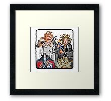 Anfractuous Apoptosis Framed Print