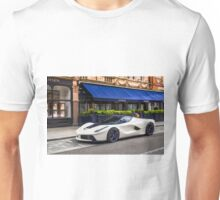 Ferrari LaFerrari (Pearl White & Blue Carbon) Unisex T-Shirt