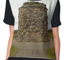 Culloden Memorial  Chiffon Top
