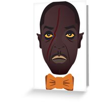 Chalky White Greeting Card