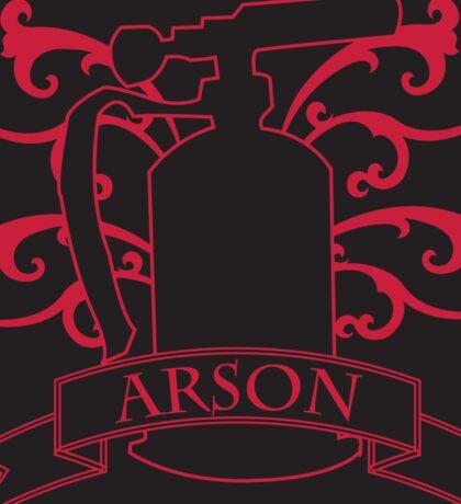 Arson Blowtorch Sticker