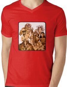 Anfractuous Apoptosis - Sepia Mens V-Neck T-Shirt