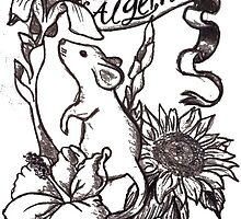 Flowers and Algernon by lyneo