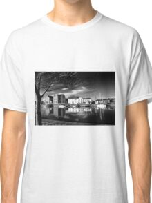 Claddagh, Water Reflections, B+W Version Classic T-Shirt