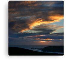 Pastel skies - photography Canvas Print