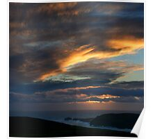 Pastel skies - photography Poster
