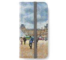 The Louvre Museum in Paris iPhone Wallet/Case/Skin