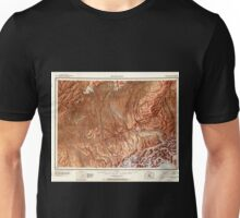 USGS TOPO Map Alaska AK Mount McKinley 361199 1952 250000 Unisex T-Shirt