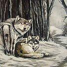 Dos Lobos by Susan Bergstrom