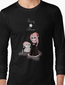 Black Xmas: A Merry Gothic Christmas Long Sleeve T-Shirt