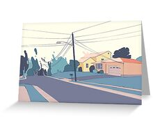 A few streets down Greeting Card