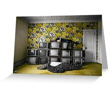 reality was our religion and it was fading fast, NY Greeting Card