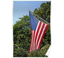 Red, White, Blue - the Stars and Stripes Poster