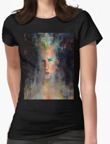 Metaphoric Womens Fitted T-Shirt