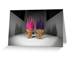 Treasure Trolls Greeting Card