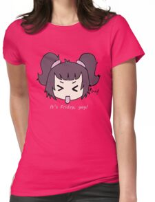 It's Friday, yay! by Lolita Tequila Womens Fitted T-Shirt