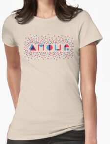 amour Womens Fitted T-Shirt