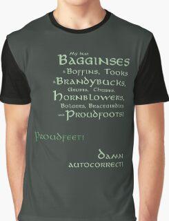 Damn autocorrect! Graphic T-Shirt