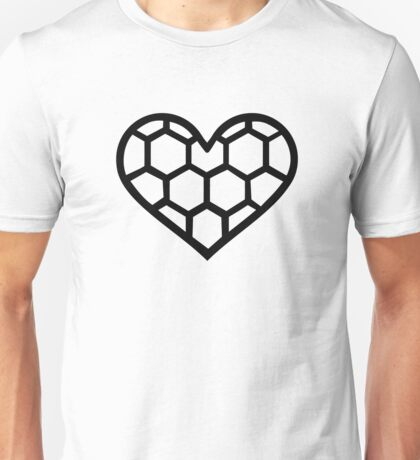 Handball heart Unisex T-Shirt