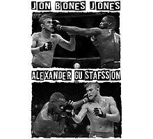 Jon Jones Vs Alexander Gustafsson Photographic Print