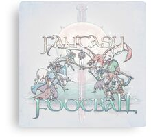 Fantasy Football Canvas Print